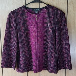 St. John Wool Knit Jacket